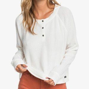 Roxy cozy henley pullover